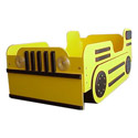 Bulldozer Toddler Bed