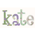 Kate's Garden Whimsical  Letters