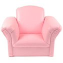 Pink Faux Leather Kids Chair
