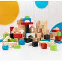 100 Piece Wooden Block Set