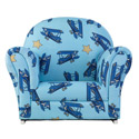 Airplanes Kids Upholstered Rocker