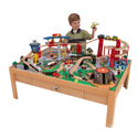 Airport Express Train Set and Natural Table