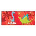 Personalized Rectangle Dinosaur Canvas Art