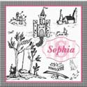 Personalized Toile Canvas Art