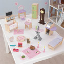 28 Piece Dollhouse Furniture