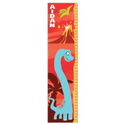 Personalized Red Dinosaur Growth Chart