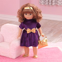 18-in Haley Holiday Doll