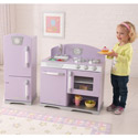 Lavender Retro Kitchen