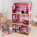 Pink and Pretty Dollhouse