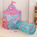 Princess Castle Tent with Tunnel