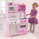 Pink Toddler Kitchen with Accessories