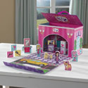 Beauty Salon Travel Box Playset
