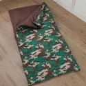 Kids Camo Sleeping Bag