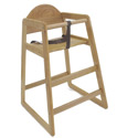 Arched Back Stackable Highchair