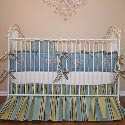 Windcrest Court Crib Bedding Set