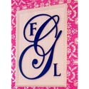 Elegant Wooden Wall Monogram