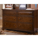 Dawson's Ridge 6 Drawer Dresser