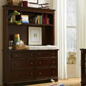 Dawson's Ridge Bookcase/Hutch with Dresser