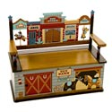 Wild West Toy Box Bench