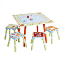 Alphabet Soup Table and Stool Set