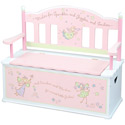 Fairy Wishes Toy Box Bench