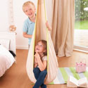 Organic Pastel Hanging Crow�s Nest for Kids