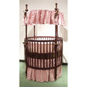 Dorothee Round Crib Bedding