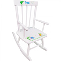 Personalized Jungle Animals Rocker