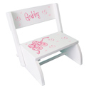 Personalized Ballet Flip Stool