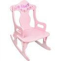 Pink Personalized Puzzle Rocker