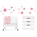 In Bloom 4-Piece Mini Crib Set