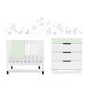 Tranquil Woods Mini Crib Bedding Set