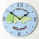 Alligator Clock
