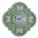 Butterfly Design Wall Clock