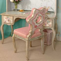 Mosaic Daisy Desk and Chair