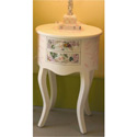 Mosaic English Rose Night Table