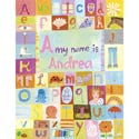 My Name is Girl Stretched Art
