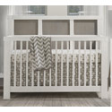 Rustico Moderno 4-in-1 Convertible Crib