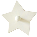 White Star Wall Peg