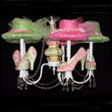 Nava's Shoes Chandelier