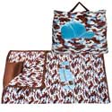 Camouflage Blue Skateboard Nap Bag