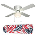 American Flag Ceiling Fan