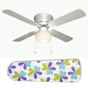 Fun and Floral Ceiling Fan