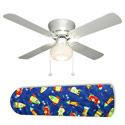 Rocket Race Outer Space Ceiling Fan