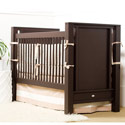 Ricki Crib with Smooth Panel