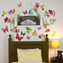 Butterfly Arbor Wall Decal