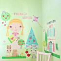 Paper Doll-Goldie Wall Decal