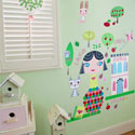 Paper Doll-Lisa Wall Decal