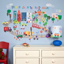 On the Road Again Wall Decal