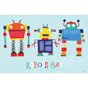 Robots Rule Canvas Art